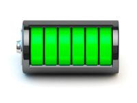 Напряжение бывает разное 4,2 V, 4,35 V, 4,4 V и даже 4,5 V - это говорит о полном заряде.