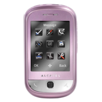ALCATEL ONE TOUCH 706 CHROME
